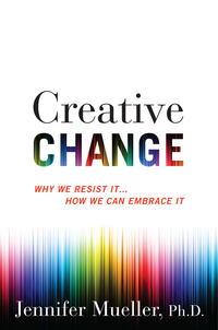 Jennifer Mueller Creative Change book image
